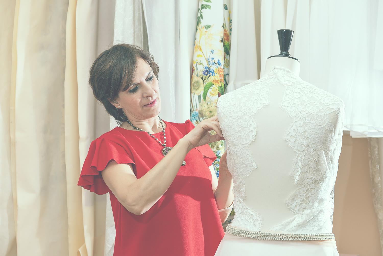 Marisa de la Fuente - Diseñadora vestidos Novia