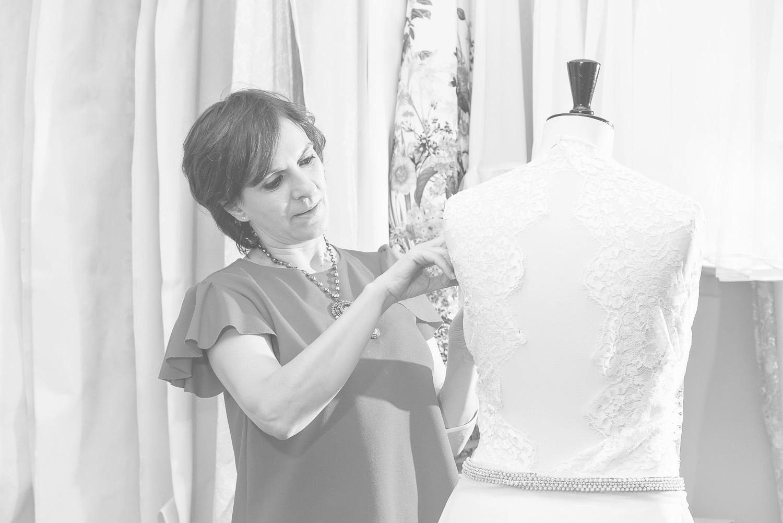 Marisa de la Fuente - Diseñadora vestidos novia - Madrid